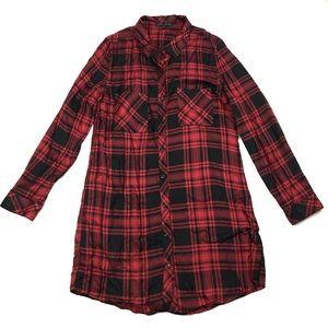 Sanctuary | Women's Plaid Tunic/Dress Size Medium